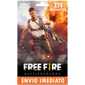 Free Fire 210 Diamantes +21 Bônus (231) - Recarga P/ Conta