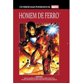 Homem De Ferro 5 Marvel Salvat Capa Vermelha
