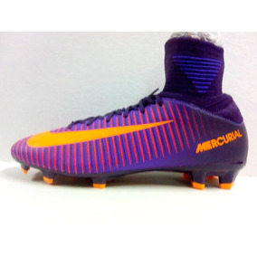 the best attitude 02eb9 abb56 Tenis De Futbol Soccer Jr Mercurial Superfly V F G