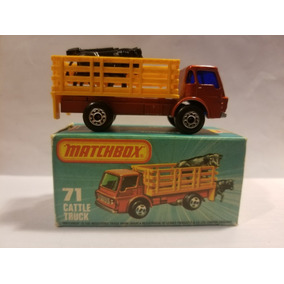 Matchbox Lesney Superfast No 71-c Dodge Cattle Truck1976
