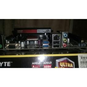 Combo Amd Madre Gigabyte Fm2a68hm-h+ Procesador + Ram 2gb