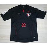 0d6cda6d5d Camisa Jogo De Goleiro São Paulo F.c. 2010 Reebok  22 Bosco