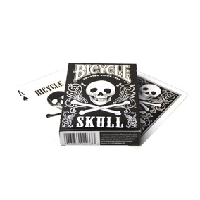 Baralho Bicycle Skull Poker Cards
