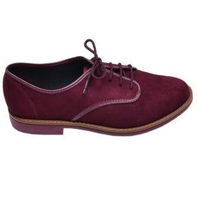 cffdcbbd8 Sapato Oxford Feminino Vinho Beira Rio - Sapatos no Mercado Livre Brasil
