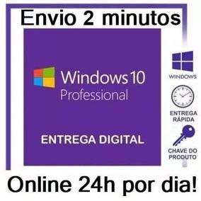 Windows 10 Pro Licença Key Chave Original 32-64 Bits Online