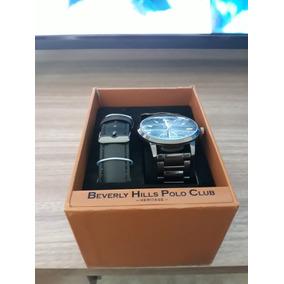 Relógio Beverly Hills Polo Club - Relógios De Pulso no Mercado Livre ... 61abdee9b64