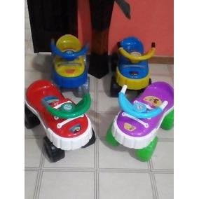 Carrito Montable Para Niños Y Niñas Tipo Zapato