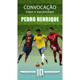 Convite Digital Virtual Aniversário Copa Do Mundo 2018