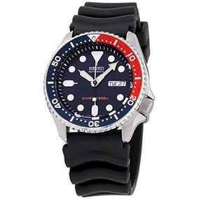 Seiko Divers Navy Dial Correa De Goma Reloj Para Hombre Skx0 5c030122aeb