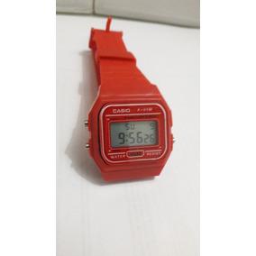 31714a0d03a Relogio Casio Vermelho Vintage - Relógios De Pulso no Mercado Livre ...