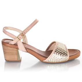 ad5328453 Tamancos Usaflex Feminino - Sapatos Dourado escuro no Mercado Livre ...