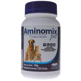 Aminomix Pet Vetnil - Cães E Gatos 120 Comprimidos -16/05/19