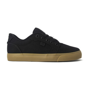 Tenis Dc Shoes Anvil Tx Blk/blk/gum Original Frete Gratis