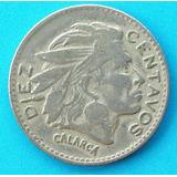 Moneda Colombia Calarca Invertida 7 P. M. 1956 Escasa !!