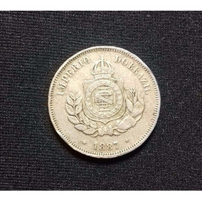 Moeda 50 Réis - 1887