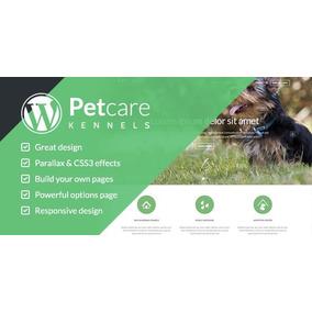 Tema Wordpress Petcare Para Petshops, Ong De Animais E Canil