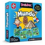 Jogo Estrela Brainbox Mundo - Jogo De Raciocínio Original