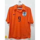 Camisa Holanda 9 Van Nistelrooy Original