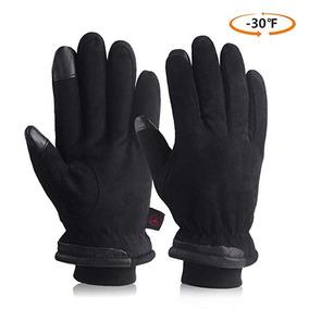 Guantes De Invierno Nieve Unisex Color Negro Ozero