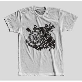 Camiseta Camisa 100% Poliester Branca De Qualidade Promoção ... 822de8e2dc1e1