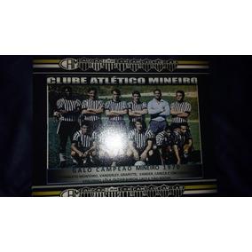 5 Posters Do Atlético Mg Campeão Mineiro 1970