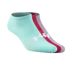 Medias Under Armour Pack X 3 Multicolor Mujer -sporting