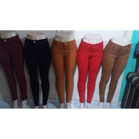 20 Calças Jeans Colorida Roupas Femininas Anita 2018 At