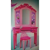 Barbie Estación Super Secreta, Tocador-centro De Comando