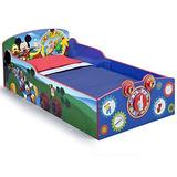 Cama Cuna De Madera Para Niños Mickey Mouse-delta Children