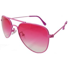 3b23c249df7f4 Oculos De Sol Aviador Proteção Uv 400 Feminino Infantil - Óculos no ...