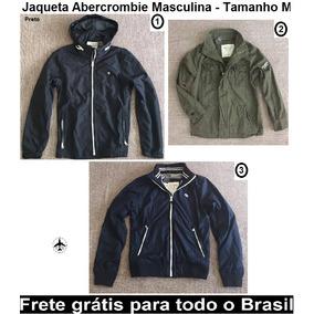 Jaqueta Abercrombie Masculina Original - Tamanho M c427415dcfc33