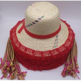fe9c1f3a07570 Chapeu De Palha Colorido - Acessórios da Moda no Mercado Livre Brasil