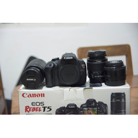 Canon T5 Kit Premium + 50mm 1.8