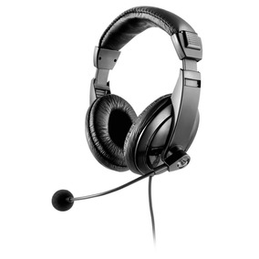Fone Com Microfone Headset Giant Profissional Multilaser