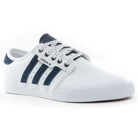 e95df1bebf3 Adidas Seeley - Zapatillas Adidas de Hombre Blanco en Mercado Libre ...