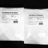 Ácido Cítrico 1kg + Bicarbonato De Sodio 1kg Envio Incluido