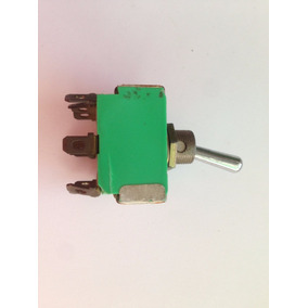 Chave Alavanca Verde -ativo Passivo on / Off - 12 Terminais
