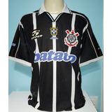 Camiseta Corinthians Bi-brasileiro 1998 /1999 Rincón 8 - 888