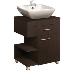 Mueble Inferior Baño 1 Cajón 1 Puerta Moduart - Ref:50006-04