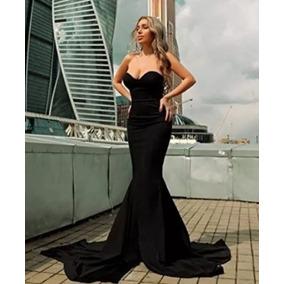 Vestido Cocktail Negro Casamiento 15 Noche Elegante Importad