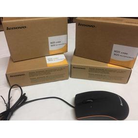 Mouse Mini Lenovo M20 P/ Laptop Y Pc Nuevos En Su Caja