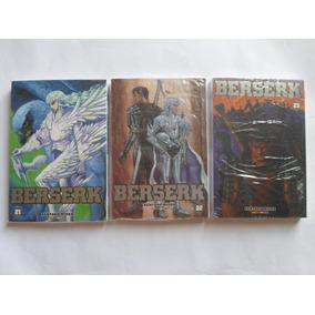 Berserk Vol. 21, 22 E 23 Lote Com 3 Panini Edição De Luxo