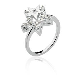 46681aabe6a4f Estrela Swarovski - Anéis com o melhor preço no Mercado Livre Brasil