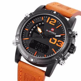 Relógio Masculino Naviforce Nf9095m- Anadigi A Prova De Agua