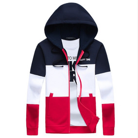 Super Chaleco Deportivo Casual Hoodie Zipper Moda Japonesa - Ropa ... 868230c442ba