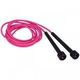 Corda De Pular Oxer Slim - 3 Metros - Cor Rosa