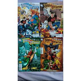 Teen Titans Col. Completa 4 Tomos Sticker Design Catellano