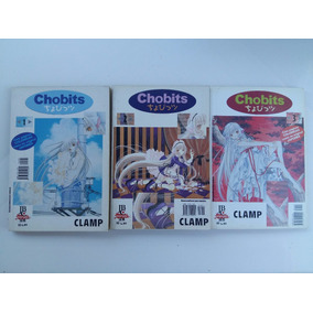 Chobits - Volumes Nº 1, 2, 3 Edição 2003 - Todos Por R$18