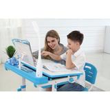 Escritorio Infantil A90t I-study El Mejordisponible En Azul