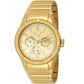 Relógio Puma Pu102822003 Gold